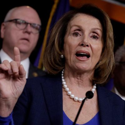 Nancy 'Crumbs' Pelosi Hosts Pricey Dinner For House Dems During #SchumerShutdown [VIDEO]