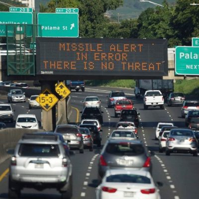 #Hawaii: Cause A Mass Panic?  Get Reassigned! [VIDEO]