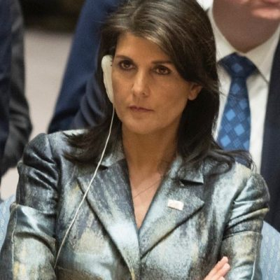 UN Ambassador Nikki Haley Puts Palestine's Abbas On Notice: 'I Will Not Shut Up' [VIDEO]