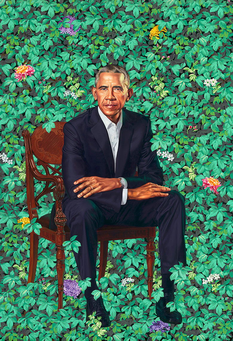 Smithsonian Reveals The Obamas Official Portraits And They Are Interesting [VIDEO]