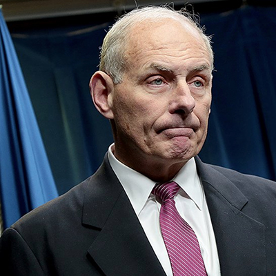 After Rob Porter's WH Resignation Over Domestic Violence Claims, Knives Are Out for John Kelly