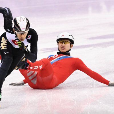 Afraid to Make the Regime Look Bad: North Korean Speed Skater Tries to Trip Olympic Competitor