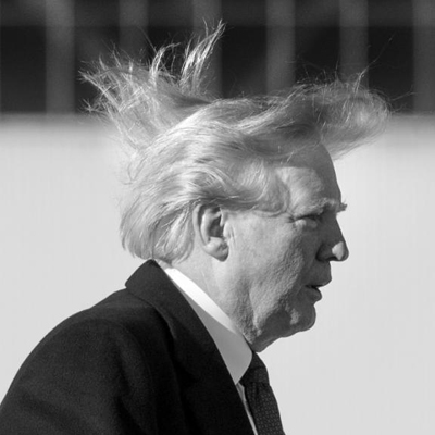 Trump Haters Rip on His Bad Hair Day. Because Their Bleep Don't Stink or Something. [VIDEO]