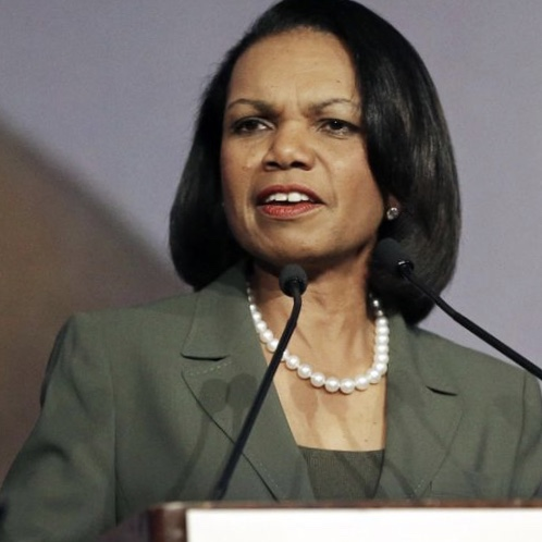 Condoleeza Rice thinks a semi-automatic is the same as a tank