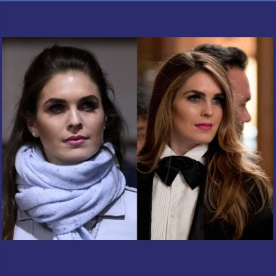Hope Hicks Bolts White House And You Should Care
