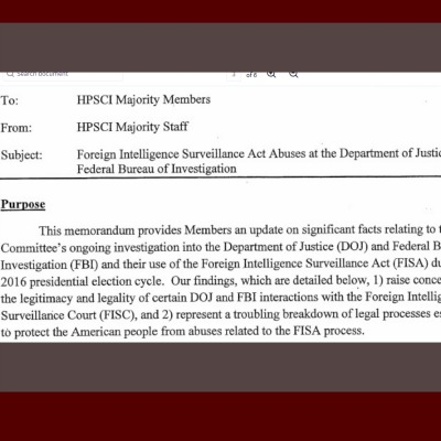 The Memo is Released - Read in Full