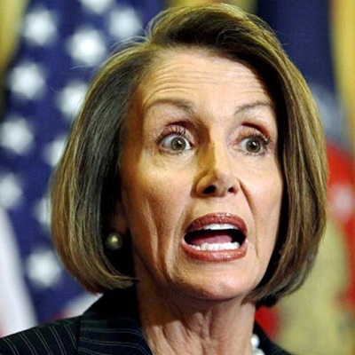 Pelosi Heckled, Sidesteps Questions