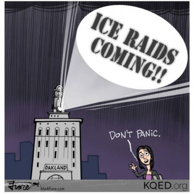 ICE ICE Libby: Oakland Mayor snitches about Immigration Raids