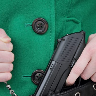 CNN Analyst: Women Can't Carry Guns Because,