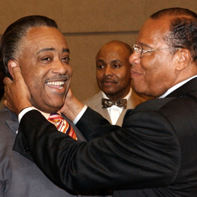 Sharpton, Black Lives Matter Rally in Defense of Racist, Anti-Semite Louis Farrakhan