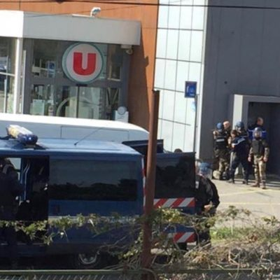 ISIS Gunman Shot Dead At Trebes France Supermarket [VIDEO]