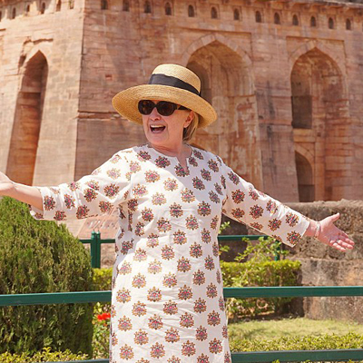 Hillary Disses Trump, Women Voters, and Flyover Country While on India Tour. [VIDEO]