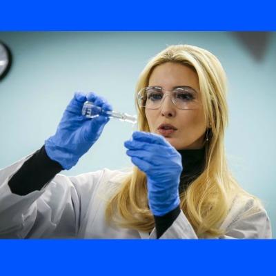 Ivanka Trump in Lab Coat Triggers Hysteria