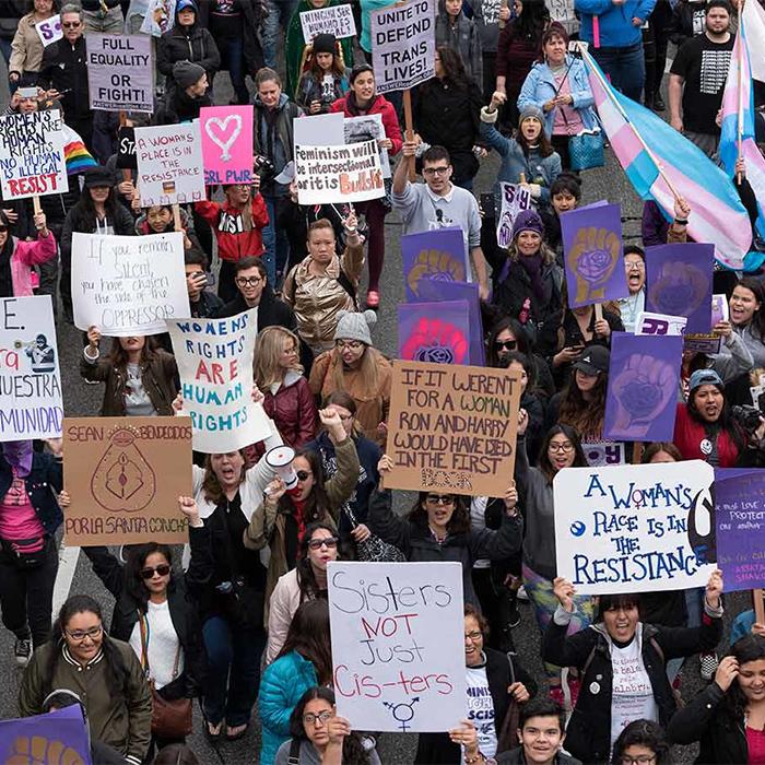 #InternationalWomensDay Accept No Facsimiles