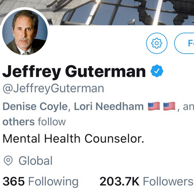 You Need Mental Help: Open Letter to Jeffrey Guterman