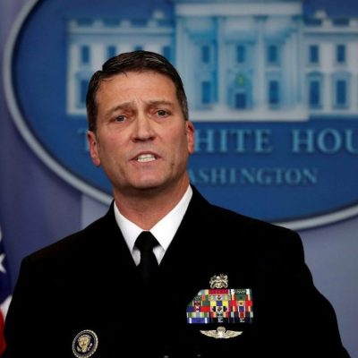 Ronny Jackson withdraws as VA Nominee