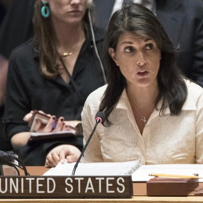 "Nikki Haley Drops Reality Check About The ""Peaceful"" Thugs At Gaza [VIDEO]"