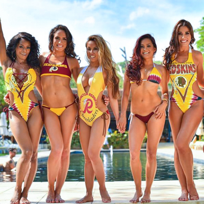 Redskins Cheerleaders are Boarding the #MeToo Bus, and I Don't Care. [VIDEO]