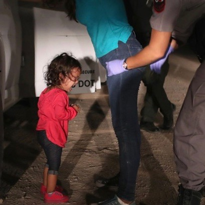 Little Girl Crying: How EVERYONE Got Key Immigration Photo Wrong [VIDEO]