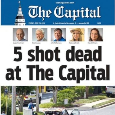 Suspect In Capital Gazette Shooting Had Seven Year Personal Grudge Against Paper [VIDEO]