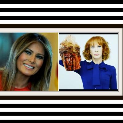 Unfunny Kathy Griffin Slags FLOTUS Melania Trump