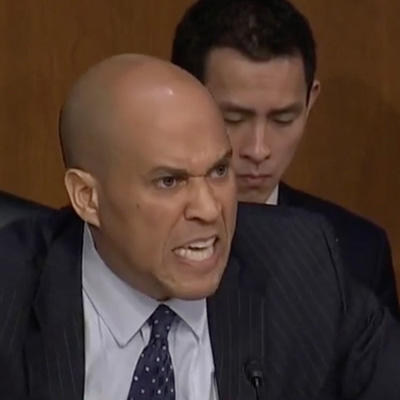 "Cory Booker's Unhinged Screed Against ""Evil"" Judge Kavanaugh. [VIDEO]"