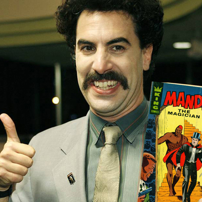 'Borat' Tells Palin 'I Wasn't REALLY a Disabled Vet.' [VIDEO]