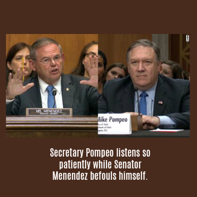 Pompeo Senate Testimony Shows Useless Senators While Trump Wins Again