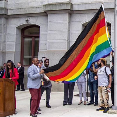 Pride Flag Shows That Older Gay Men Might Live in a Racist Closet. [VIDEO]