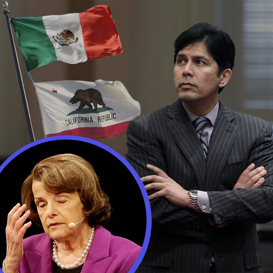 California's Confederate Democrats Reject Dianne Feinstein, Endorse Radical Kevin de Leon