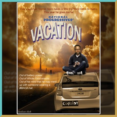 Topher Spiro Vacation Poster