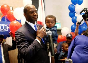 Gillum with Son