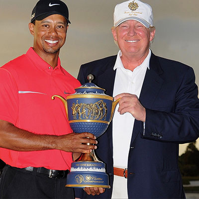 """Preachy ESPN Says Tiger Woods """"Not Black"""" Because He Won't Bash Trump [VIDEO]"""