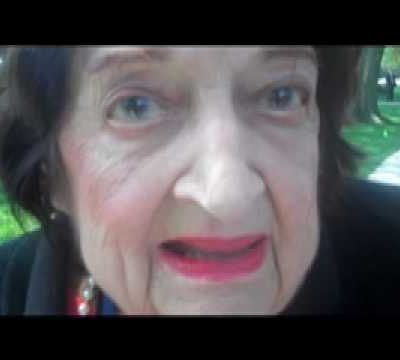 Anti-Semite Helen Thomas tells the Jews to get out of Palestine and go back to Germany