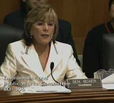 """Barbara Boxer ripped by witness; calls her """"condescending"""" and """"godawful"""""""