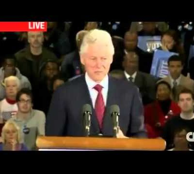Bill Clinton Smears the Military as Racist, Sexist, and Homophobic