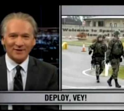 Bill Maher is a waste of oxygen; smears our troops yet again.