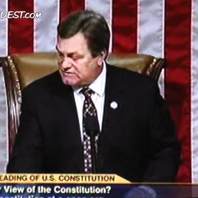 'Birther' Interrupts Reading of The Constitution on House Floor  (Video)
