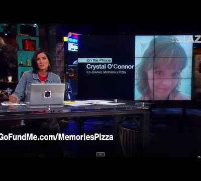 CBS Employee Alix Bryan Files Fraud Report Against Memories Pizza in Indiana