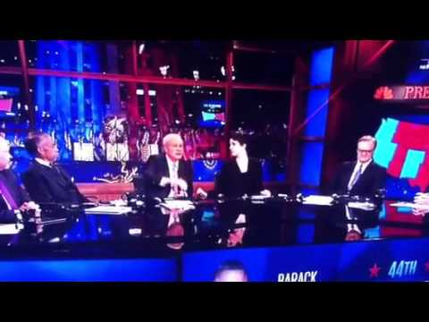 Chris Matthews is Thrilled About Hurricane Sandy, if it Helped Obama get Elected