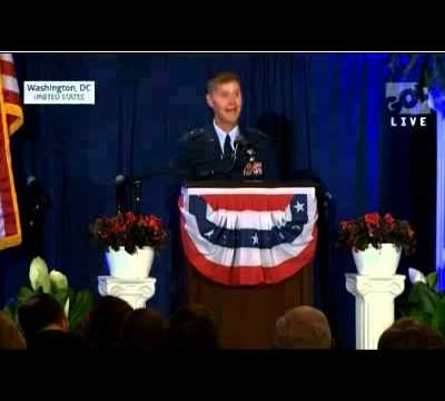 Civil Liberties Group Wants Air Force Major General Court-Martialed for Speaking of God