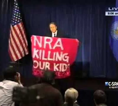 "Code Pink Harpies Accuse NRA of ""Killing Kids""  (Video)"