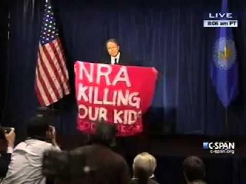 "Code Pink Harpies Accuse NRA of ""Killing Kids""  (Video)"