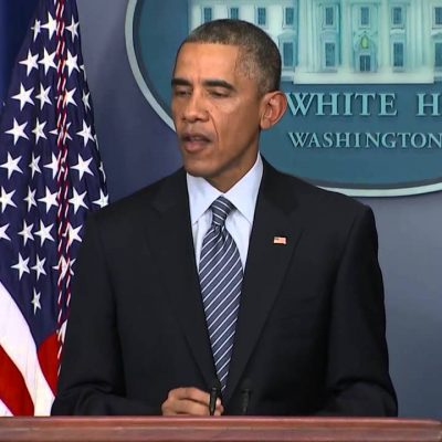 #Ferguson: Obama Makes a Statement