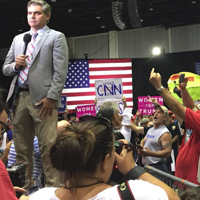 Jim Acosta Thinks Trump Supporters are Really, Really Icky. [VIDEO]