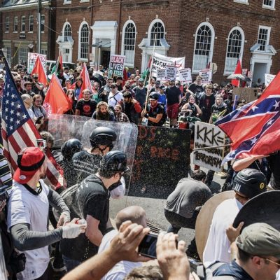Lose-Lose: Unite the Right 2 Versus #ShutItDownDC