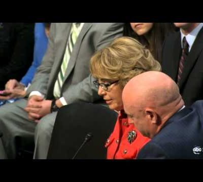 Gabby Giffords's Handwritten Notes for Her Testimony to the Senate  (Video)