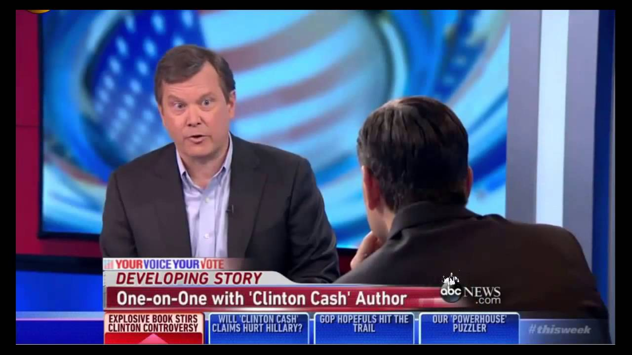 George Stephanopoulos, Clinton Lapdog, Donated to Clinton Foundation and Failed To Disclose It
