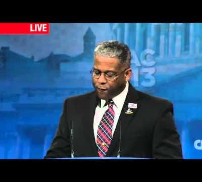 Going for the Left's throat, Allen West opens CPAC 2013  (Video)