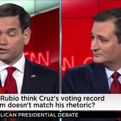 #GOPDebate: Cruz v. Rubio Fight